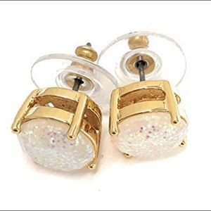 Kate Spade NWOT Glitter Earrings